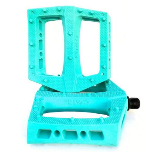 Primo Turbo Pedals - Teal 9/16""